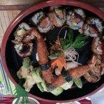 Frittiertes Sushi :)