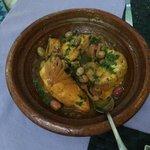 Tajine poulet/citron un délice !!