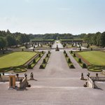 View of the gardens from Drottningholm Palace