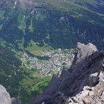 Blick vom Daubenhorn nach Leukerbad