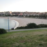Looking south onto Bondi Beach