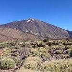 Вид на вулкан
