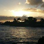 Sonnenuntergang vom Beach House aus gesehen