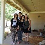My family and Deborah