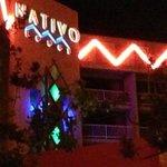 Entrance of the Nativo Hotel in Albuquerque