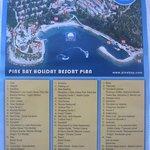 карта отеля (!) пьяно бар :)