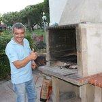 Geweldige kok van het restaurant in het park Quinta da Balaia