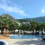 Bergen, zee, palmbomen en prachtig weer
