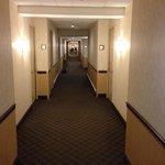 Dingy hallway