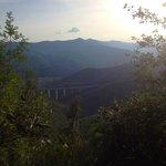 Вид на долину, в обратную сторону