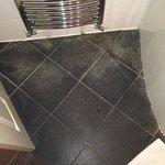 Poor bathroom flooring