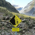 The walk to Fox Glacier