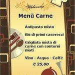 Menù Carne