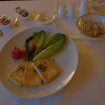 "Room Service "" Grilled Tofu and Steamed Vegetables"""