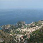 Taormina vista da Castelmola