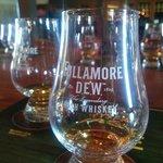 Tullamore whiskey tasting.