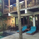 Our base - the Amra pool villa