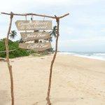 Вид с пляжа курорта