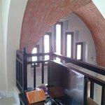 Obere Etage der Villa/Schlafbereich