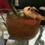 Bloody Mary at Deanie's in New Orleans, Louisiana a Must try