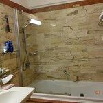 salle de bain bungalow