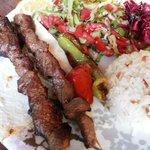 Lamb Shish Kebab at Silk Road Kebap House, Göreme
