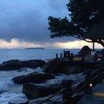 """Beautiful sunset over the """"sea of Cambodia"""""""
