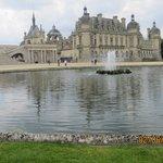 Chateau beside the lake