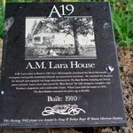 Historical Marker in front lawn