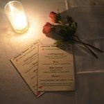 Romantic dinner menu!