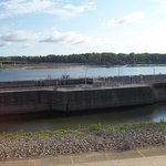 Big Dam Bridge on the Arkansas River