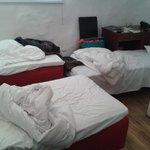 een 'driepersoons kamer'