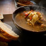 Icelandic Lambsoup with homemade bread