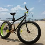 Fat tire bike rental.  Advisable to ride with a tailwind on the beach.  It's a great way to see