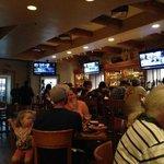 Informal environment at the Thunderbird Grill, Santa Fe