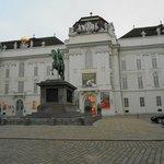 Fachada da Biblioteca Nacional Austríaca