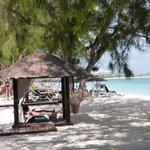 Beach Area at Caribbean Village