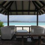 View from Lagoon Beach Villa