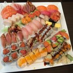 Sushi presentation