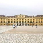 Vista frontal do Palácio
