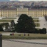 Vista do Palácio - Café Gloriette