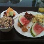 Breakfast at Bucuti-yummy
