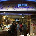 the bar at O'Pescador