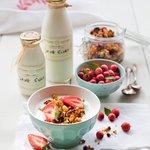 Free range organik milk products - home-made.