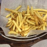 """fresh cut"" fries- frozen but again tasty"