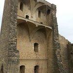 Ruínas do castelo.