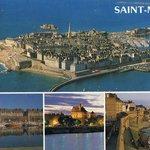 Widok na Saint-Malo