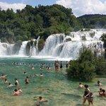 Krka Wasserfälle. Unbedingt mal reinspringen !!!
