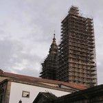 Vista de una de kas torres de la Catedral