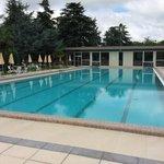 La piscina per il nuoto